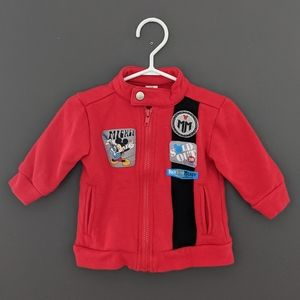 Disney Baby Mickey Mouse motorcycle sweater